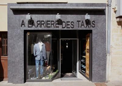 habillage extérieur boutique